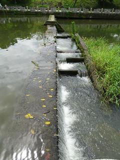 有趣的階段式水道