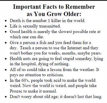 Life Facts.