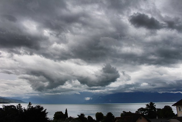 Dark clouds over the, Canon EOS REBEL T5I, Canon EF-S 18-55mm f/3.5-5.6 IS STM