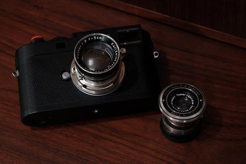 Contax mount lens