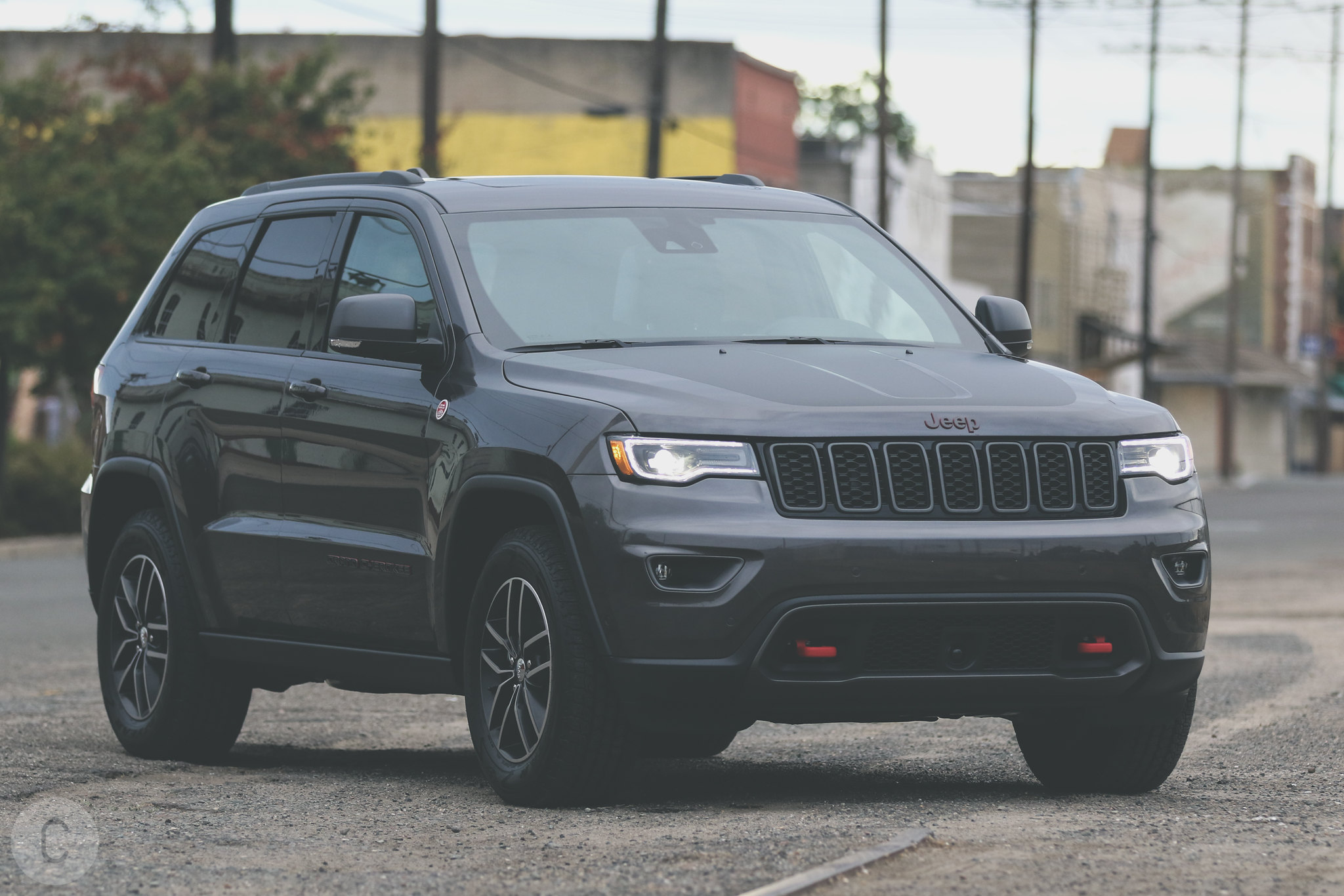 2017 Jeep Grand Cherokee Trailhawk is in the CF Garage