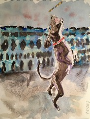 A Dog Painting