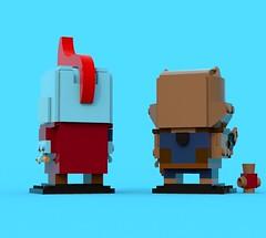 BrickHeadz Comp 5: Yondu & Rocket