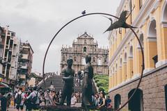 Macau, old town