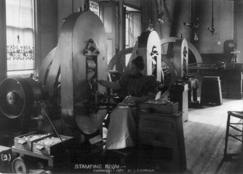 Stamping-room-at-the-New-Orleans-Mint-1897