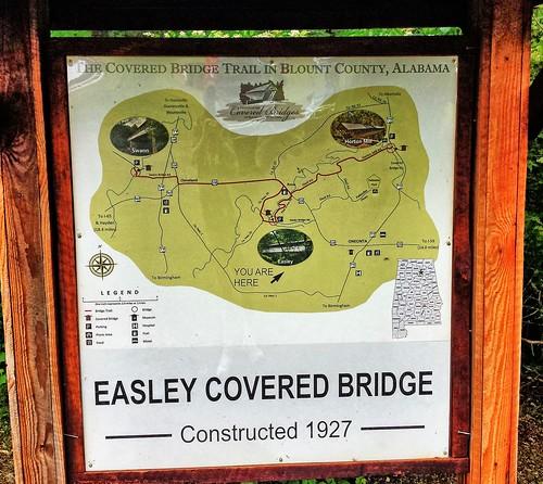 Easley Covered Bridge- Blount County AL (2)