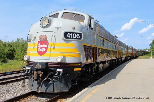 canadianpacific cp fp9a 1401 f9b 1900 fp9au 4106 4107 diesel smithsfalls ontario canada train railway locomotive railroad