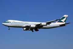 Cathay Pacific Cargo  Boeing 747-867(F) B-LJI