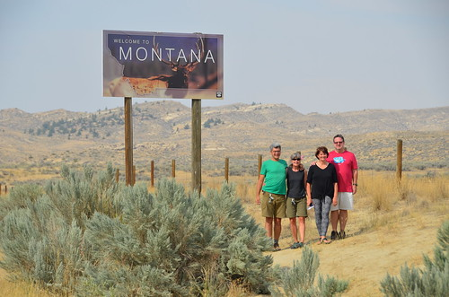 Wyoming and Montana Border with Tammie and Jim