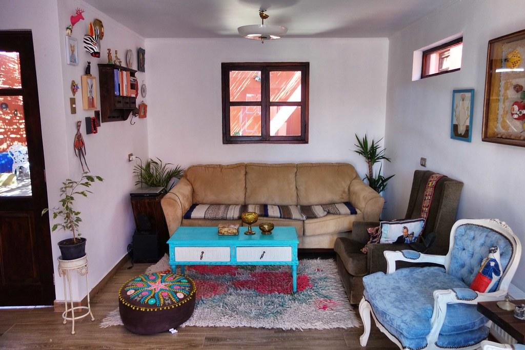 San Pedro Atacama - Hostal Montepardo - Inside 2