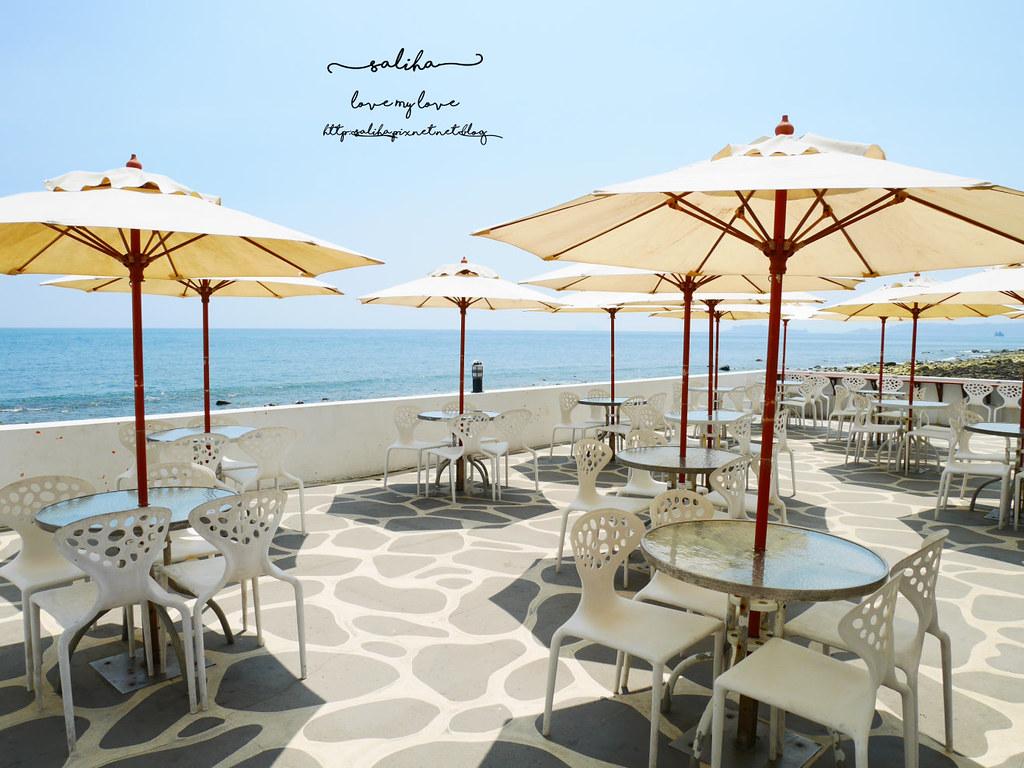 新北金山北海岸海景餐廳推薦洋荳子youngdoor cafe咖啡店 (1)