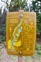 Maligne Canyon trail map