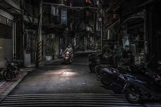 Taipei after dark series