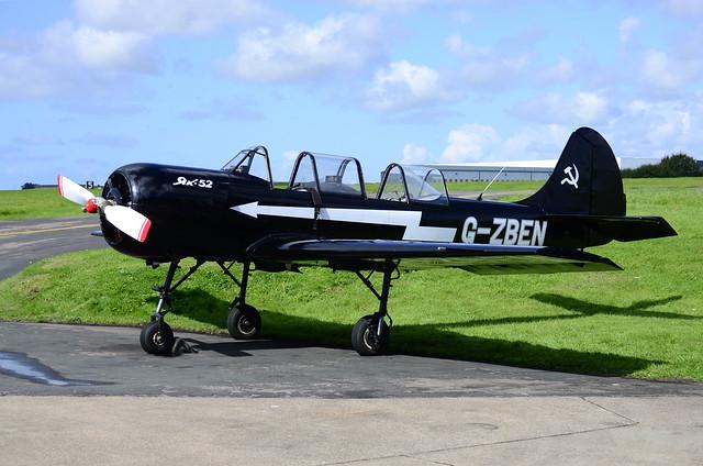 G-ZBEN Yak-52