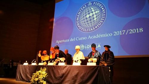 Apertura del curso de la Universidad Loyola en Entrenúcleos