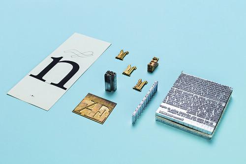 2_Materiali_produzione_carattere_tipografico_con_Linotype