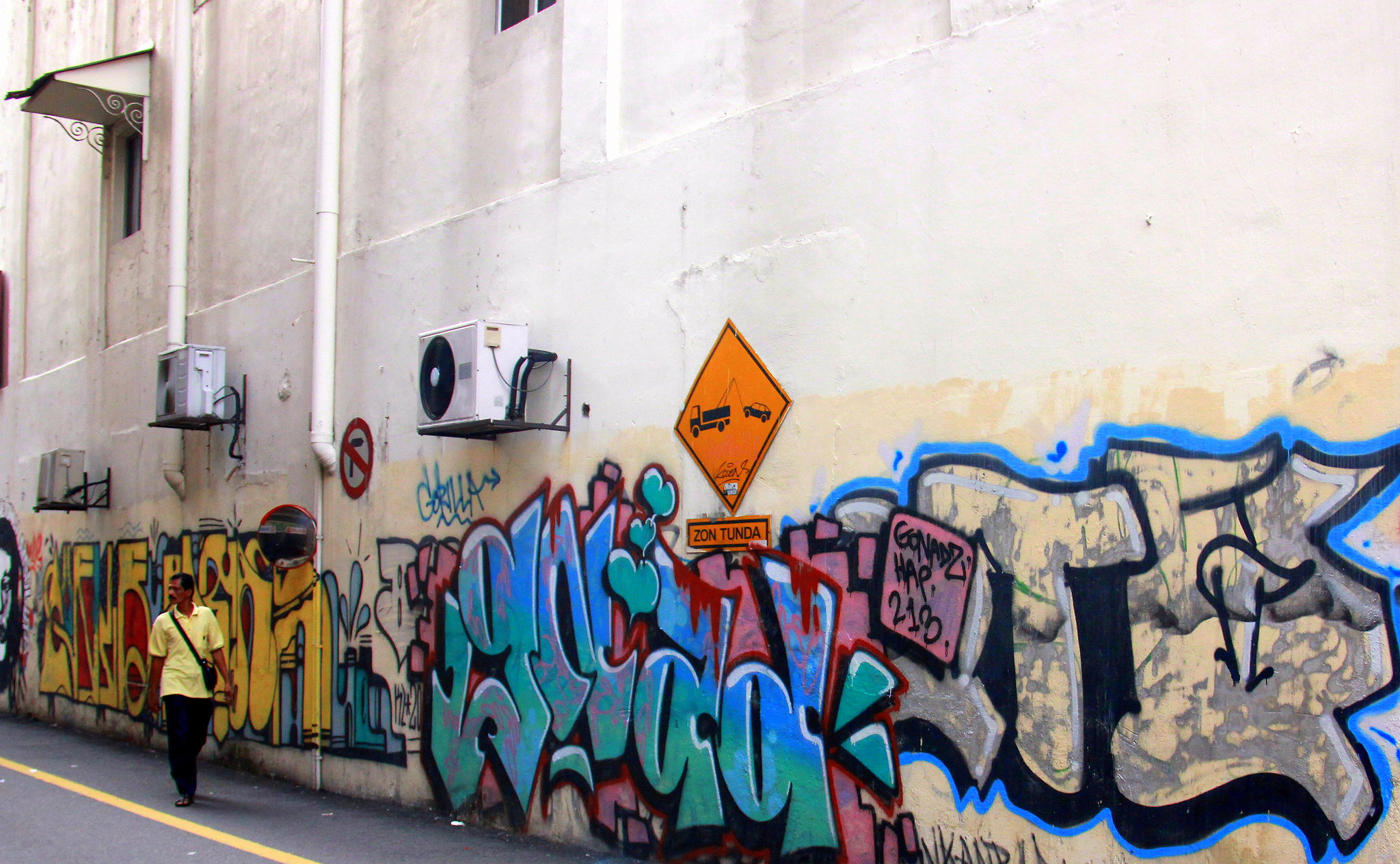 Street art in Kuala Lumpur