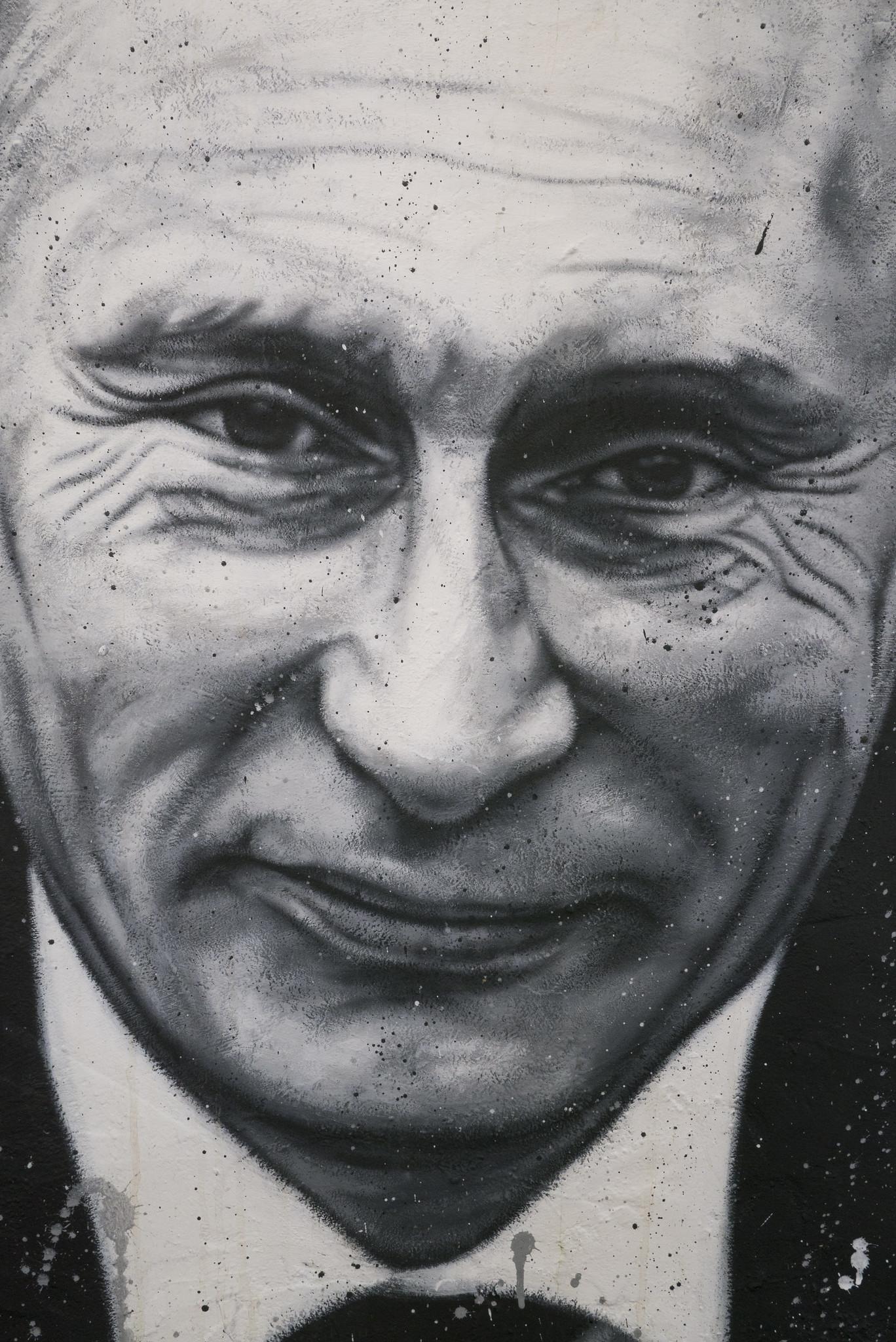Vladimir Vladimirovich Putin, painted portrait _1100395