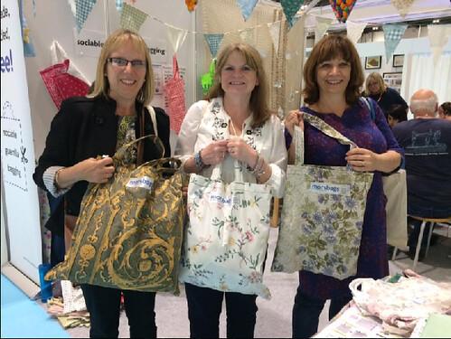 Happy bag-makers Saturday