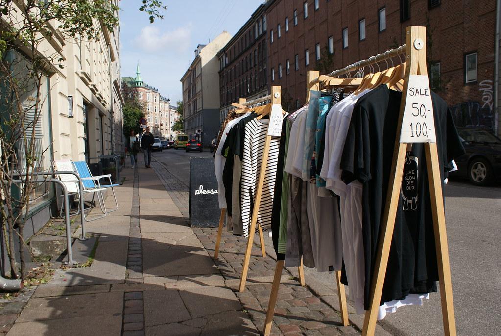 Stefansgade concentre un grand nombre de boutique de fringues, de disquaires, d'objets originaux et de cafés.