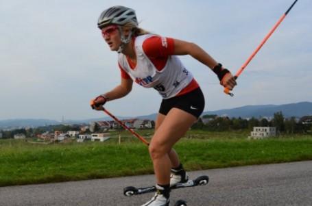 Janatová ovládla také druhý závod MČR na kolečkových lyžích, titul slaví i Jakš