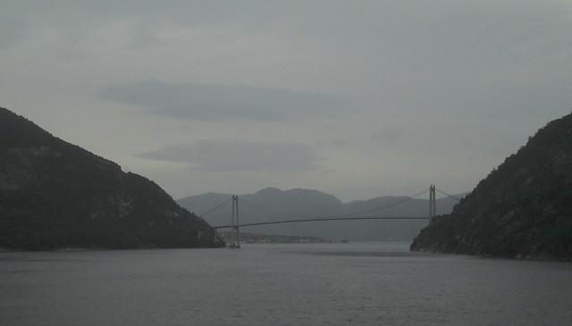Bridge over Lysefjord, Norway