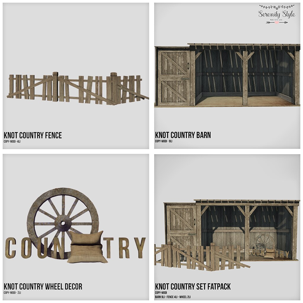 Serenity Style- Knot Country  Serie - SecondLifeHub.com
