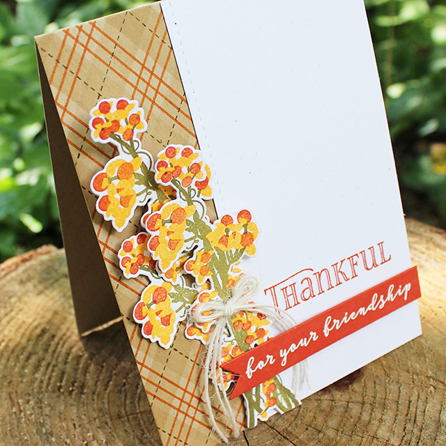 Thankful For Your Friendship Card 3