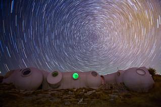 Star Trails Circumpolaire