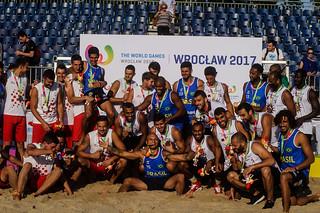 Beach Handball Finals Men