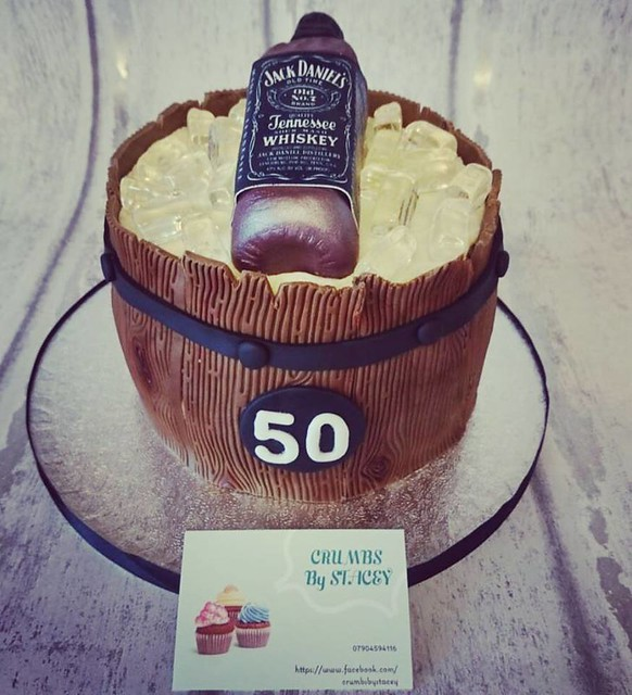 Barrel Cake from Crumbs - by Stacey