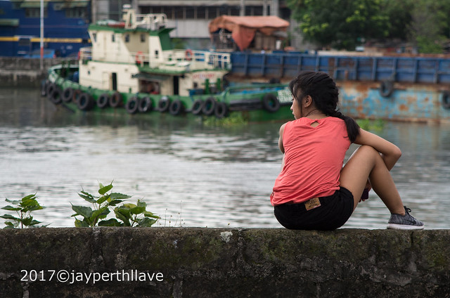 By the Pasig River