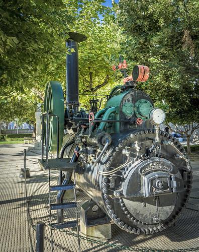 Dampfmaschine aus Deutschland