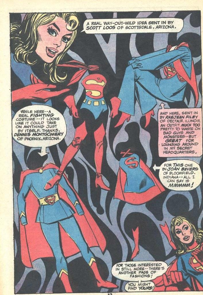 super dc giant supergirl 54