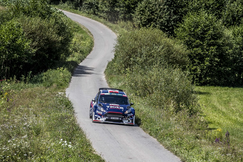 19 KASPERCZYK Tomasz (POL) SYTY Damian (POL) Ford Fiesta R5 action during the 2017 European Rally Championship Rally Rzeszow in Poland from August 3 to 5 - Photo Gregory Lenormand / DPPI