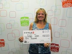 Debra Thaden - $50,000 - Powerball - Meridian - Jacksons Food Stores