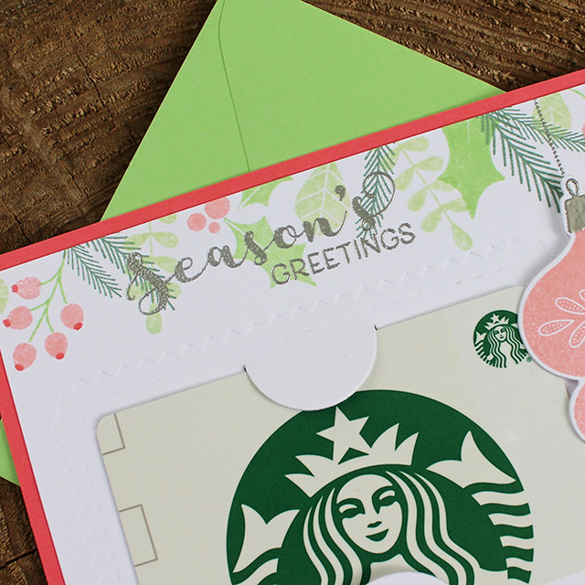 Season's Greetings Gift Card Holder 3