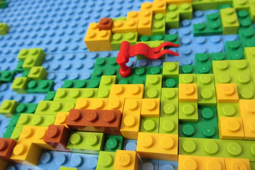 dirks LEGO world map 16 closeup europe