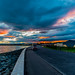 Arbroath Sea Front Sunset