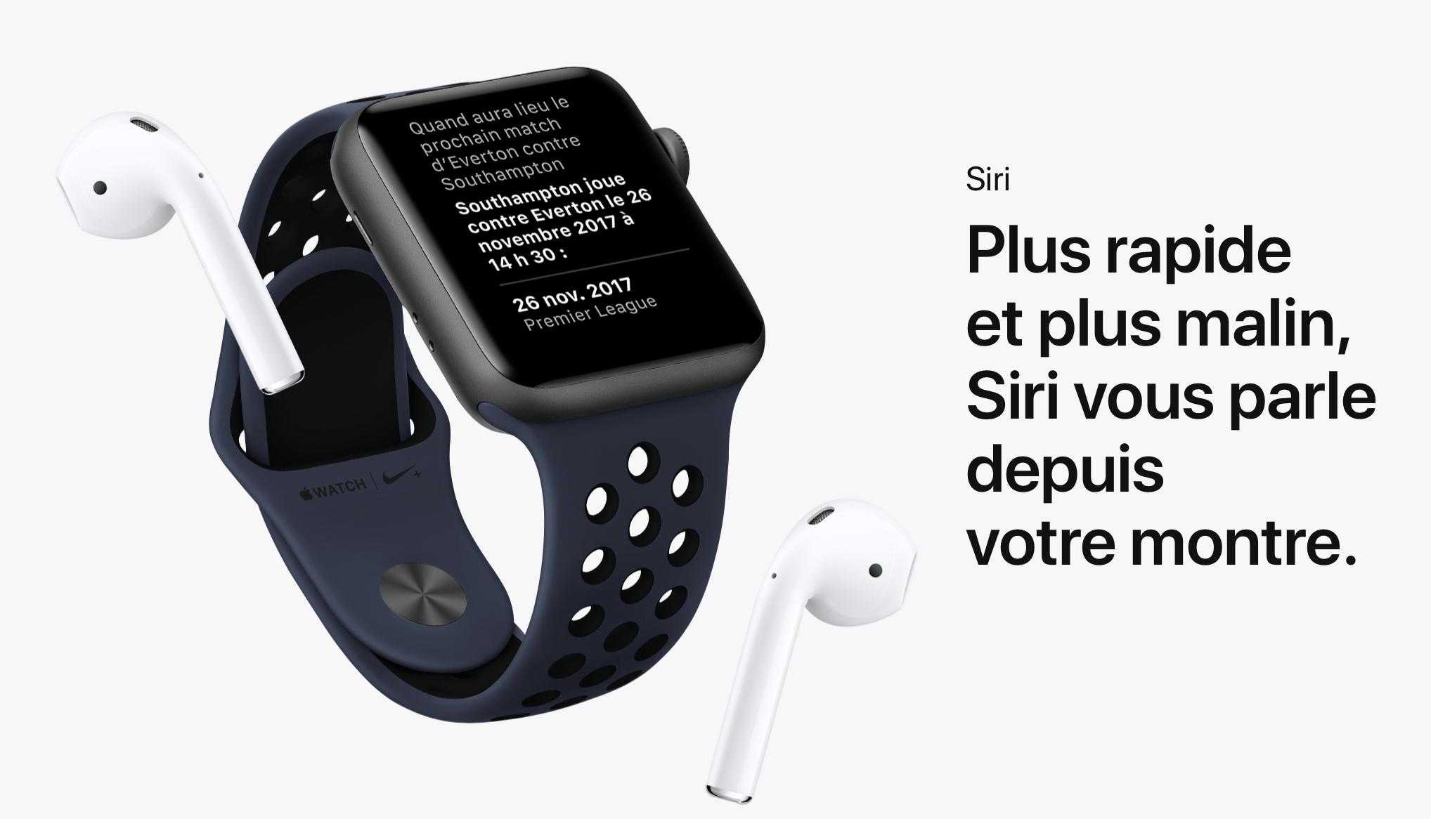20170914 Apple Watche Series 3 SIRI Airpods