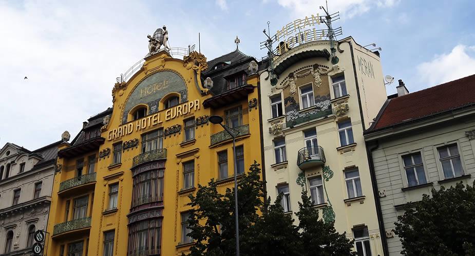 Stedentrip Praag in de zomer: 9 tips. Art Nouveau architectuur | Mooistestedentrips.nl