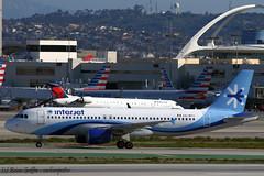 XA-MTY | Interjet | Airbus A320-214 | 20170228 | KLAX