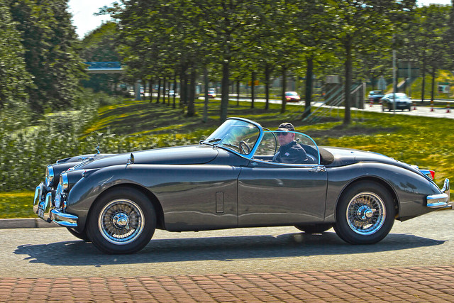 Jaguar XK 150 3.4S Roadster 1958 (3828)