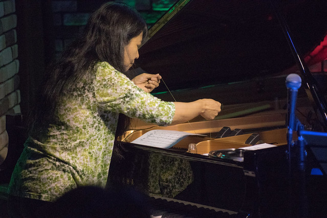 Satoko Fujii Quartet live at Cortez, Mito (Japan), 19 Aug 2017 -7S-00041