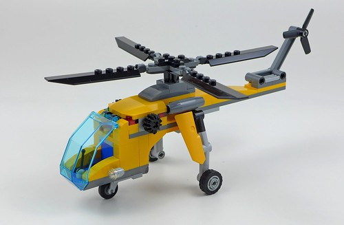 LEGO City Jungle 60158 Jungle Cargo Helicopter 41