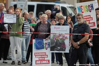2017.08.24 Neuruppin Proteste gegen AfD Wahlkampfversammlung mit Bjoern Hoecke (2)