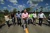 En gira de trabajo por el municipio de Reforma