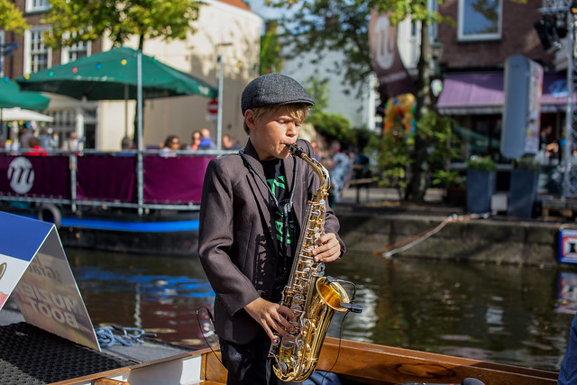 Jazz in de gracht / Young talent 2017