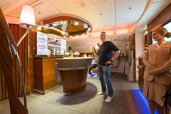 Emirates Bar flight to Oz