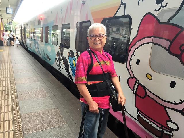 搭乘普悠瑪火車 (17)